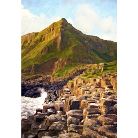Co Antrim - First Light Giant's Causeway