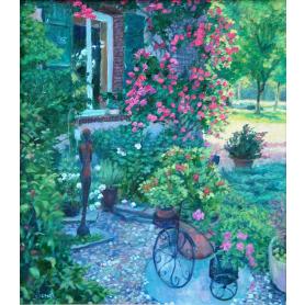 Original - French Garden Idyll