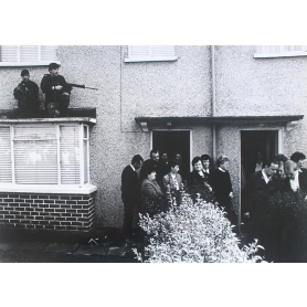Analogue Print - IRA Funeral