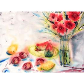 Gerbera And Watermelon