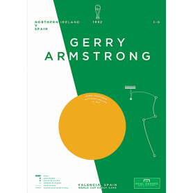 Northern Ireland - Gerry Armstrong vs Spain 1982