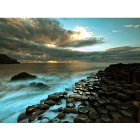 Co Antrim - Giant's Causeway Sunset