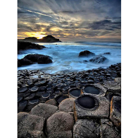 Co Antrim - Giant's Causeway Last Light