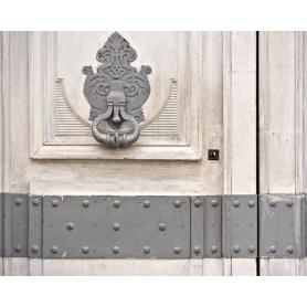 Paris In Grey Door Knocker