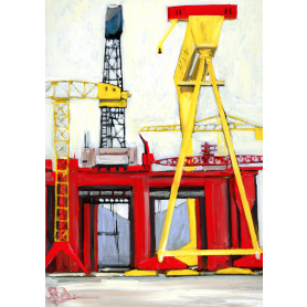 Print Belfast - Harland and Wolff