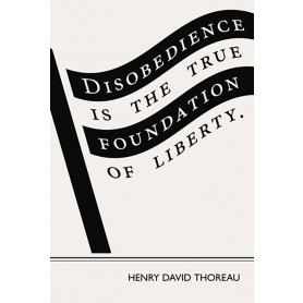 Literary Print - Henry David Thoreau
