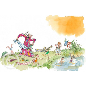 Quentin Blake - Her Overcoat Has Pockets Galore
