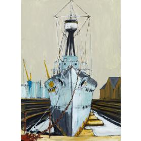 Print Belfast - HMS Caroline
