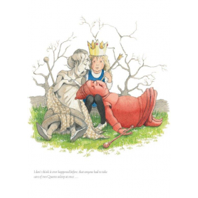 Alice in Wonderland - Two Queens