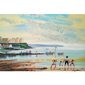 Print - Happy Holidays At Portstewart
