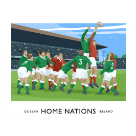 Sport - Rugby Home Nations Ireland v Wales