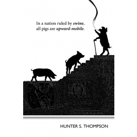 Literary Prints - Hunter S. Thompson