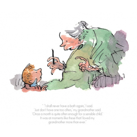 Roald Dahl The Witches - I Shall Never Have a Bath Again