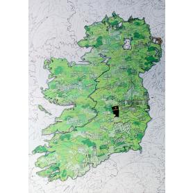 Metal Works - Ireland Map