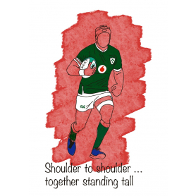 Ireland Rugby Player