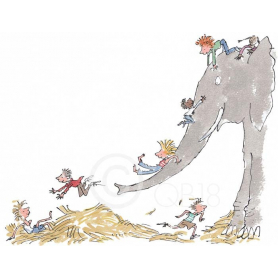 Quentin Blake - Its Large And Grey And Lots Of Fun