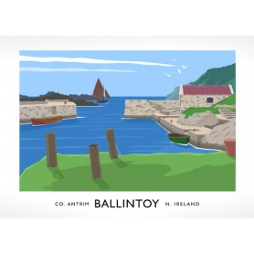 Co Antrim - Ballintoy Harbour