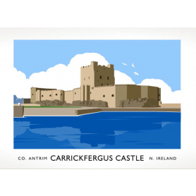 Co Antrim - Carrickfergus Castle