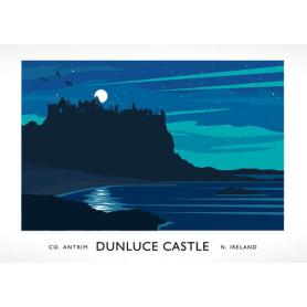 Co Antrim - Dunluce Castle Aurora