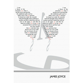 Literary Print - James Joyce