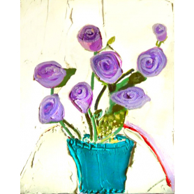 Parma Violet Roses