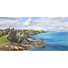 Co Antrim - Dunluce Castle to Portrush