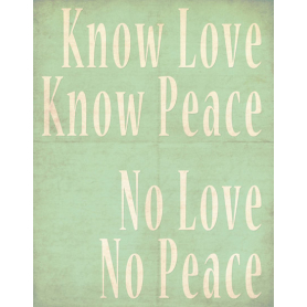 Know Love Know Peace