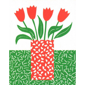 Tea Towel Tulips