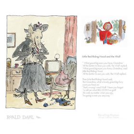 Roald Dahl's Revolting Rhymes - Little Red Riding Hood and the Wolf