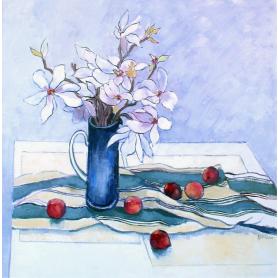 Original - Magnolia and Plums