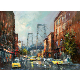 Original - Manhattan Bridge From Brooklyn