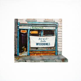 Old Belfast Shopfronts - Marguerite