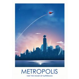 Superheroes - Superman Metropolis
