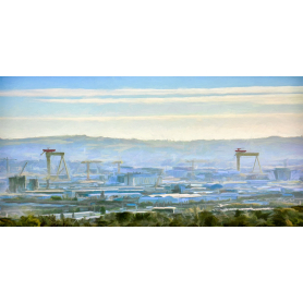 Belfast - Morning Mist