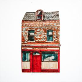 Old Belfast Shopfronts - Morrison
