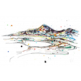 Print Ltd Edition Landscapes - Mountains Of Mourne