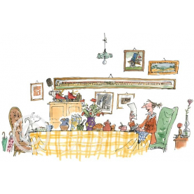Quentin Blake - Mrs Armitage Read The Letter To Breakspear