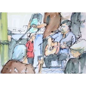 Original Belfast - Musicians at St. George's Market I