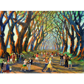Print - Music at the Dark Hedges