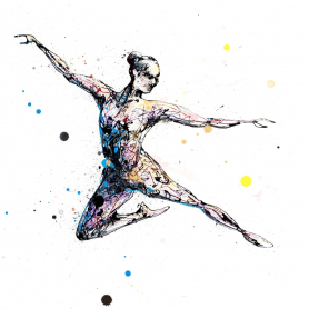Print Ltd Edition - Dancers Series - My Time