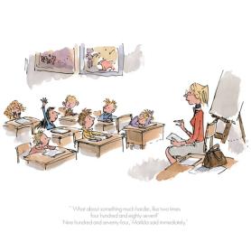Roald Dahl Matilda - Nine Hundred And Seventy Four