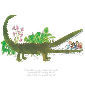 Roald Dahl Enormous Crocodile - One Child Isn't Enough