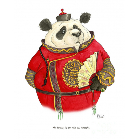 Animals - Panda Shakespeare Quote
