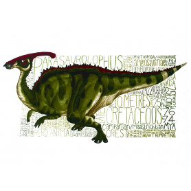 Animals - Dinosaur Parasaurolophus