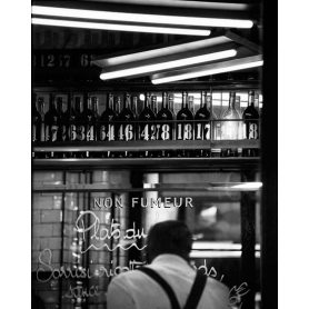 Paris Black And White Paris Bar