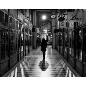 Paris Black And White Paris Shopping