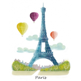 Paris With Balloons