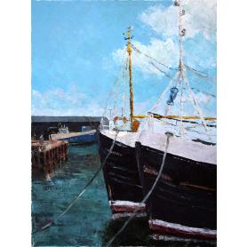 Portavogie Harbour After The Catch