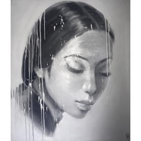 Original Oil: Portrait 34