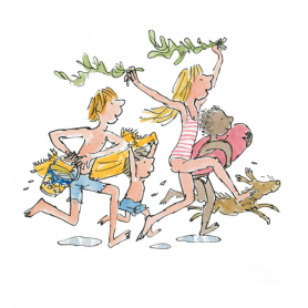 Quentin Blake Signed - Down To The Sea